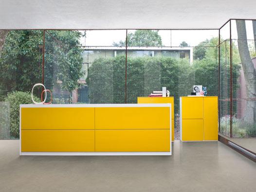 Mobili per Reception collezione Vogue