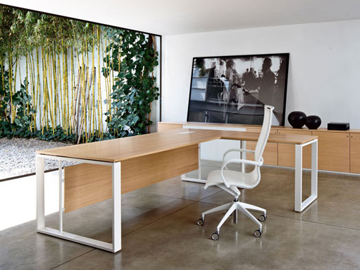 Mobili uffici direzionali, collezione Velvet